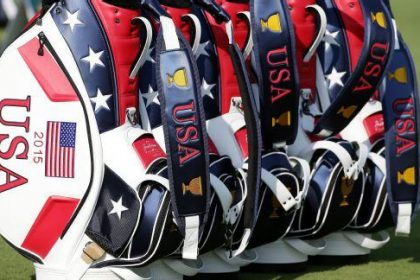 Ryder Cup Team USA golf bags