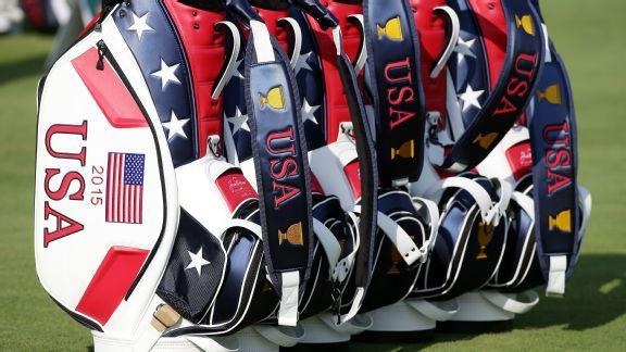 Ryder Cup Team USA golf bags