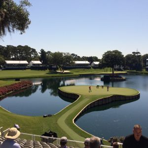 The Island Green at Tournament Players Club at Sawgrass, Florida