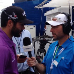 Mark Zecchino with Adam Hadwin