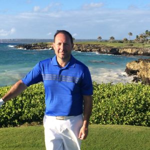 Mark Zecchino at Punta Espada Golf Club, Dominican Republic