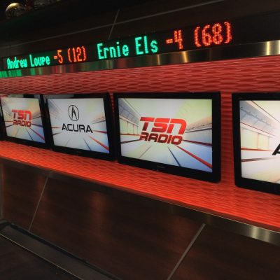 Inside the TSN Studio