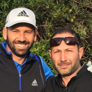 Mark Zecchino and Sergio Garcia