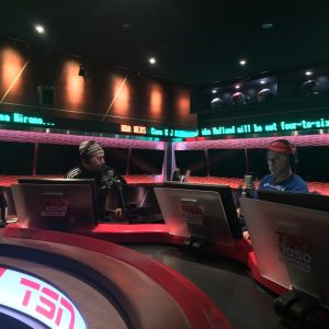 Mark & Bob in studio at TSN